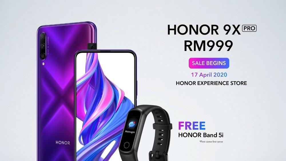 HONOR 9X Pro Malaysia RM999