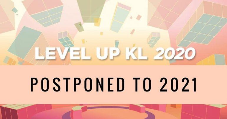 Level Up KL 2020 postponed