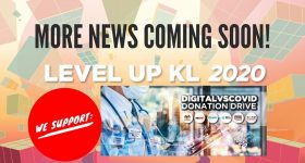 Level Up KL donation drive