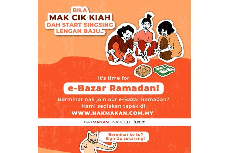 MyEG Nak Makan Ramadan e-bazaar