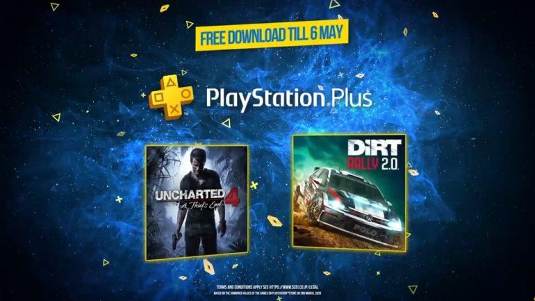 PlayStation Plus April 2020
