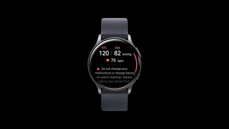 Samsung Health Monitor Galaxy Watch Active2