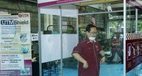 UTM disinfectant chamber
