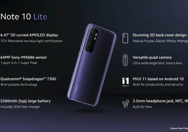 Xiaomi Mi Noe 10 Lite