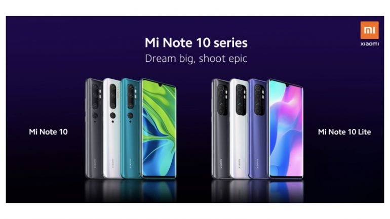 Mi Note 10 Lite to be launched today