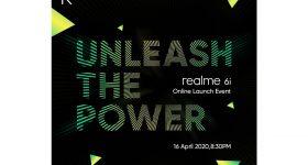 realme 6i Malaysia launch