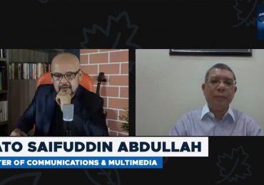 Harith Iskander Live Saifuddin Abdullah