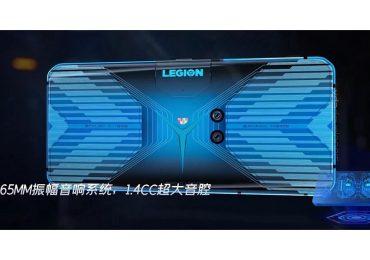 Lenovo legion phone back