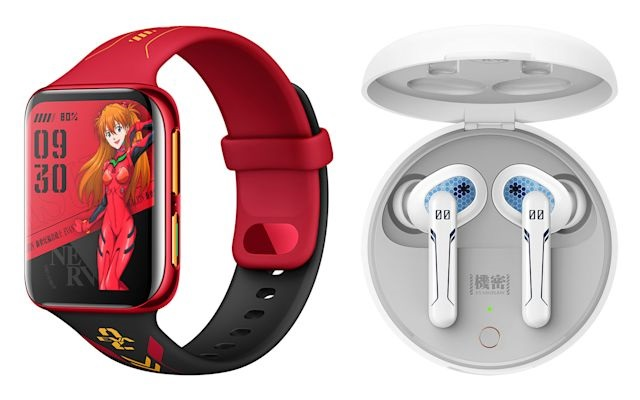 OPPO EVA watch and earbuds