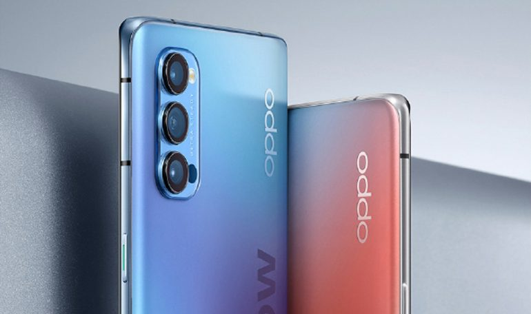 OPPO Reno4 series live images and key specifications appear online