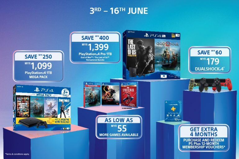 PS4 Days of Play bundles