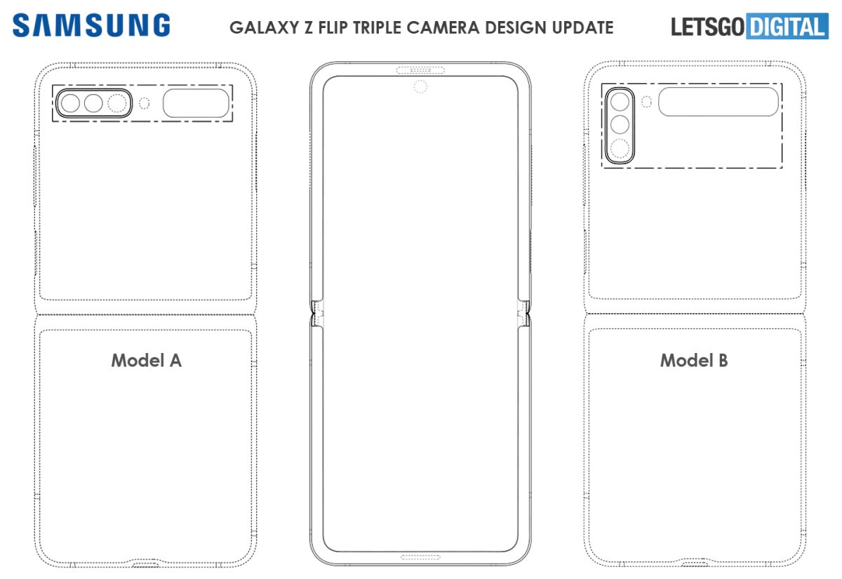 Samsung Galaxy Z Flip Second Gen Appears in New Patent