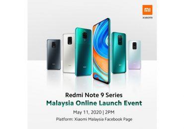 Xiaomi Redmi Note 9 Malaysia Launch