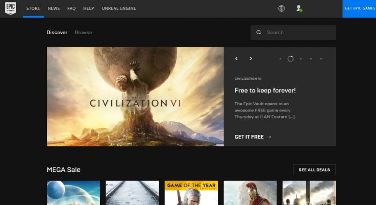 Epic Games Store Releases Civilization VI As Latest Free Mystery Game
