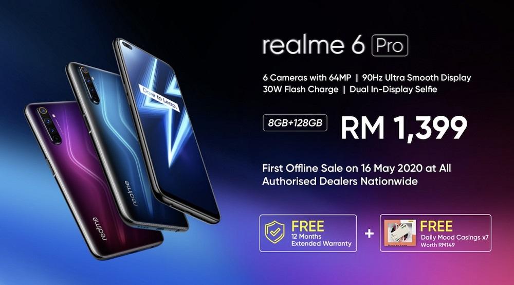 realme 6 Pro first dealer sale