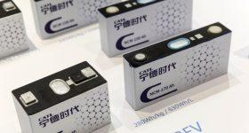 CATL batteries via Bloomberg