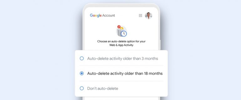 Google activity tracker