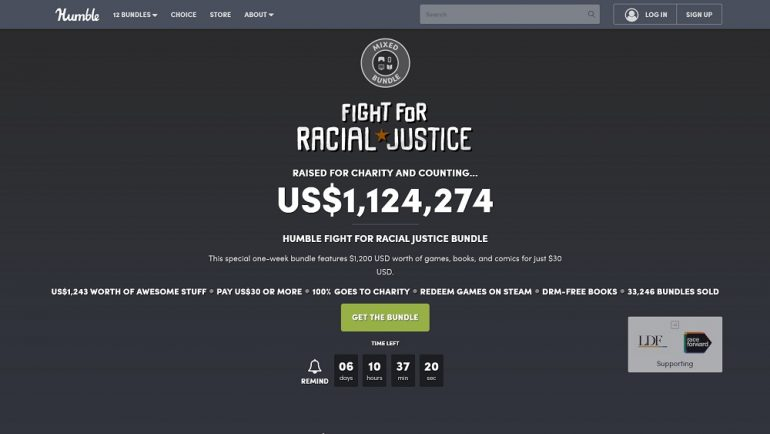 Humbe Bundle Fight for Racial Justice