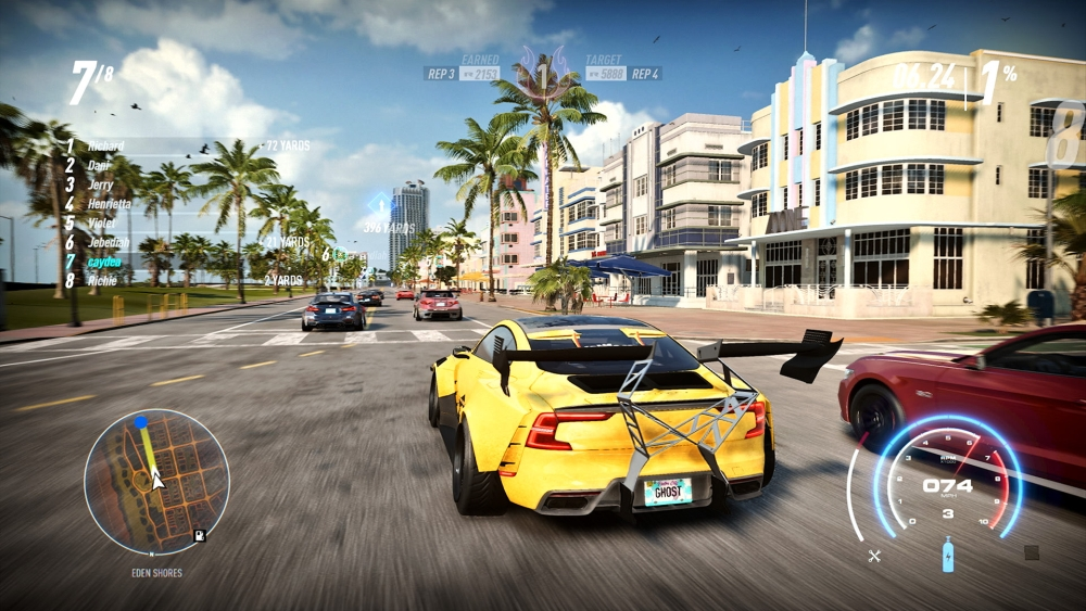 Need For Speed Heat Steam 2