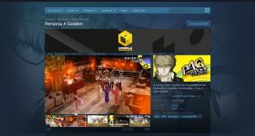 Persona 4 Golden Steam page