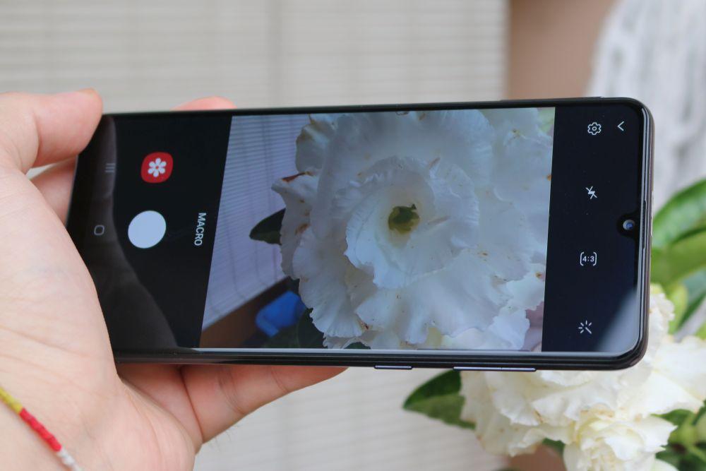 Samsung Galaxy A31 macro