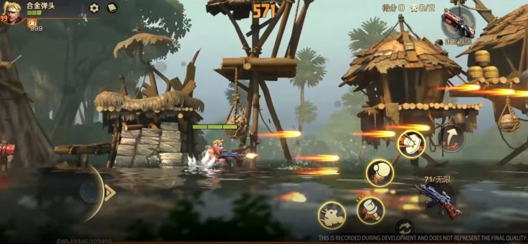 Tencent Metal Slug Code J SYN Gameplay
