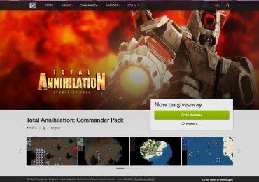 Total Annihilation GOG free until 9pm