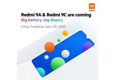 Xiaomi Malaysia Redmi 9A 9C teaser