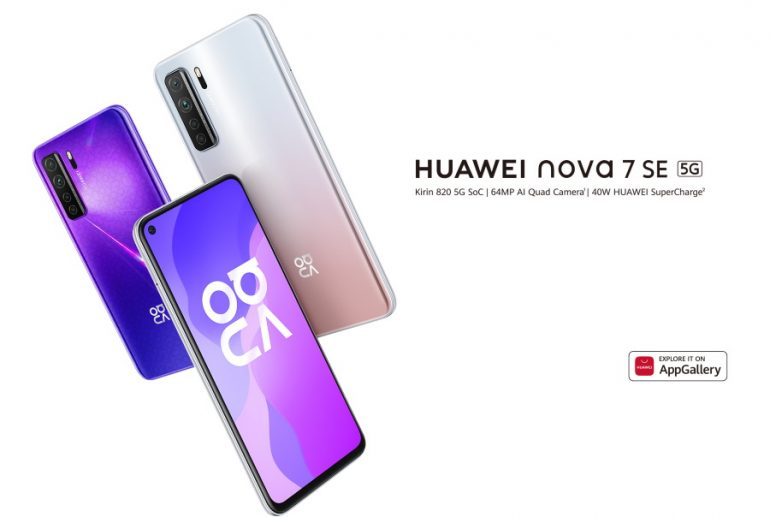 Huawei nova 7 and nova 7 SE 5G Phones To Be Available In Malaysia ...