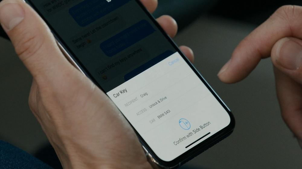 iOS 14 digital car key