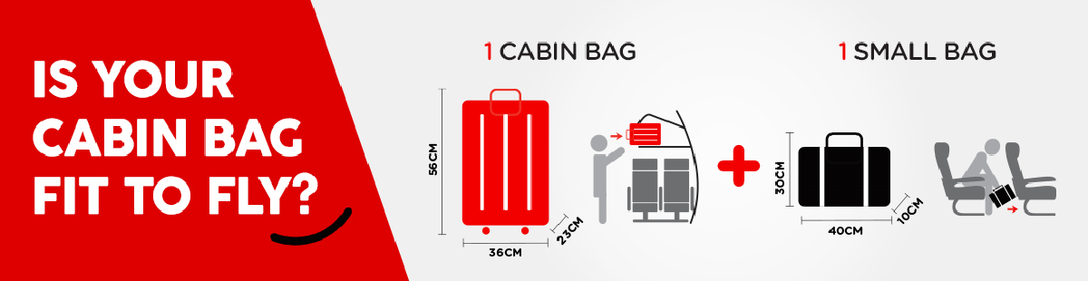 AirAsia Two In-Cabin Baggage
