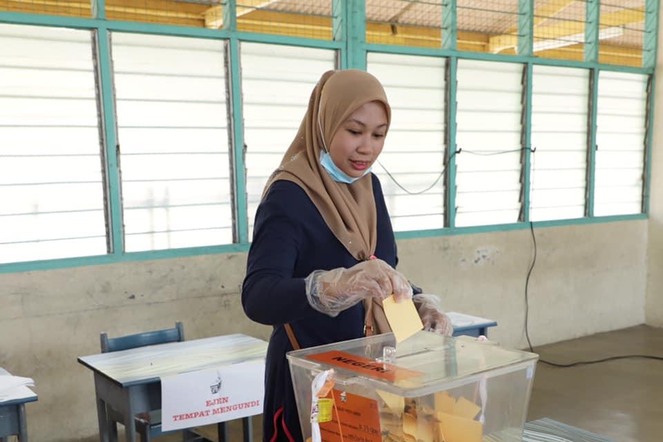 Election Commission voting