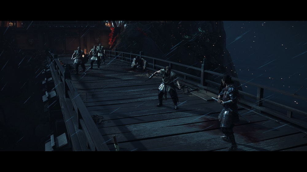 Ghost of Tsushima grunts standoff