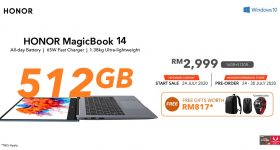 HONOR MagicBook 14 Upgraded 16GB + 512GB