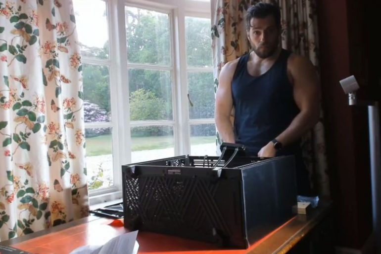 Watch the 'Superman' and 'Witcher' build a gaming PC in lockdown