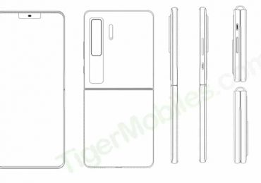 Huawei clamshell patent all angles