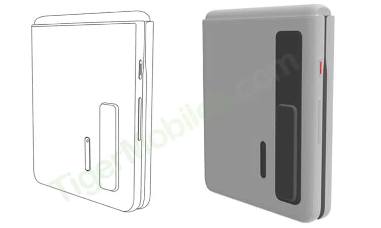 Huawei clamshell patent