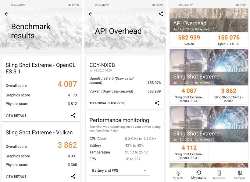 Huawei nova 7 SE benchmarks