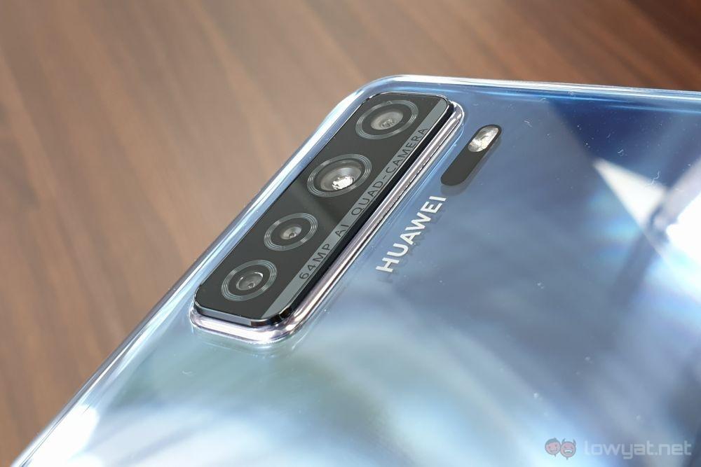 Huawei nova 7 SE camera