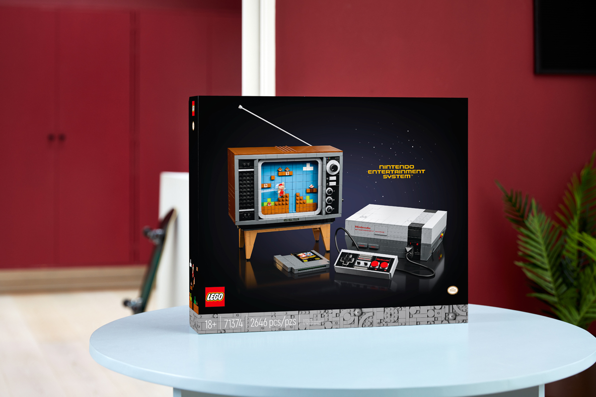 LEGO Nintendo NES Set Arrives In Malaysia In August; Priced At RM949.90 8