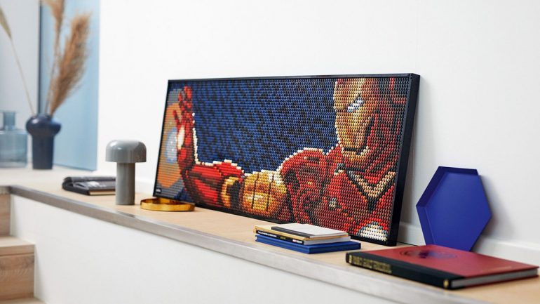 Build a Home Museum With LEGO's New Pop Art Sets