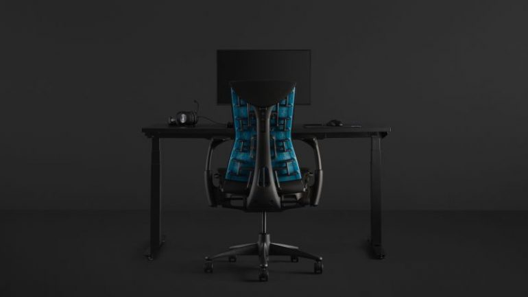 """Logitech And Herman Miller Launch Embody Gaming Chair; Retails For US$1495"""""""
