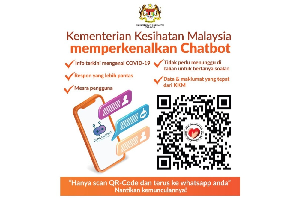 Ministry of Health WhatsApp chatbot
