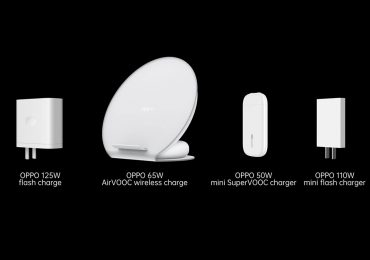 OPPO 125W Wired 65W Wireless Fast-charging