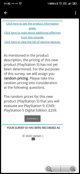 PS5 price survey reddit