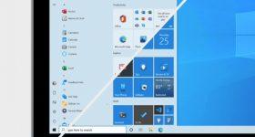 Windows Start menu change