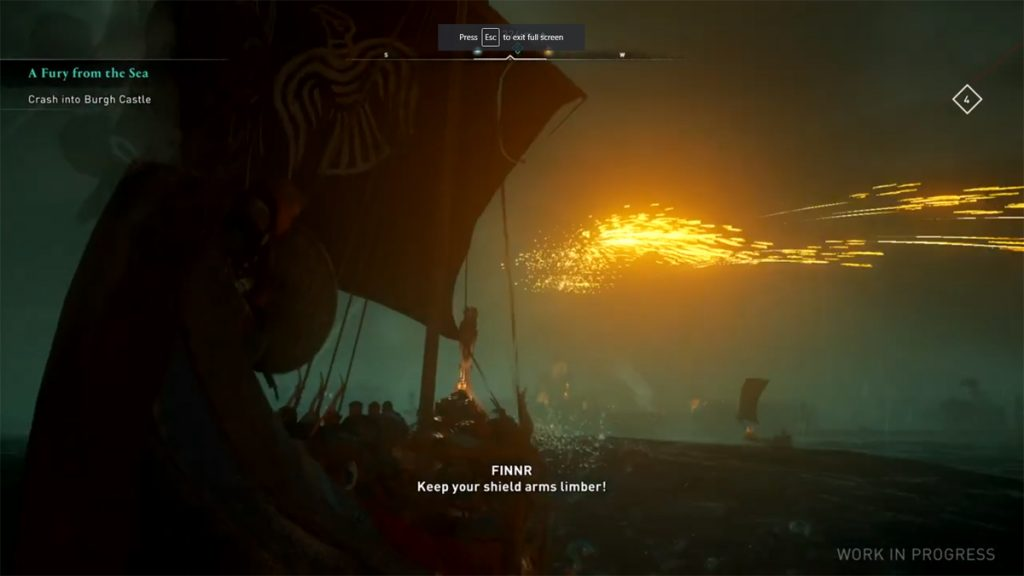 Assassin's Creed Valhalla gameplay leaked
