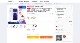 realme X3 SuperZoom Lazada discount