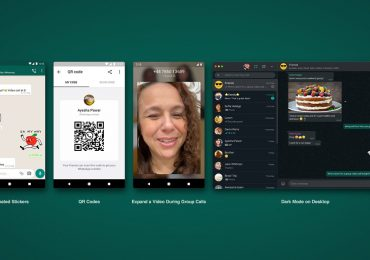 whatsapp update rolling out animated stickers qr codes