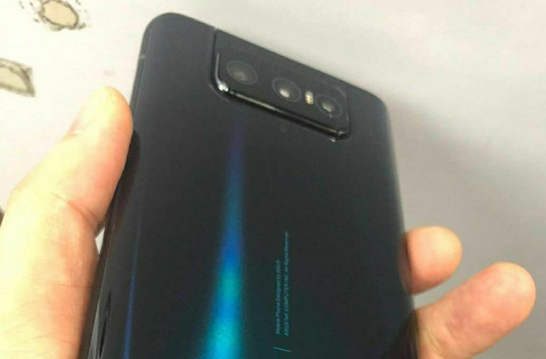 ASUS Zenfone 7 Live Photos And Specs Leaked